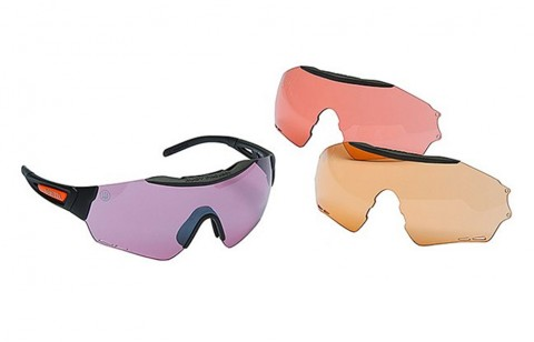 Beretta Puull Shooting Glasses by Rudy Project - 3 Lens Kit
