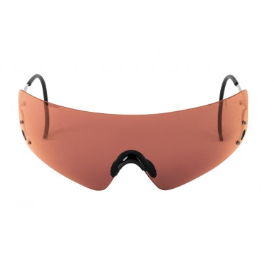 Beretta Youth Shields Shooting Glasses - Red (Vermillion)