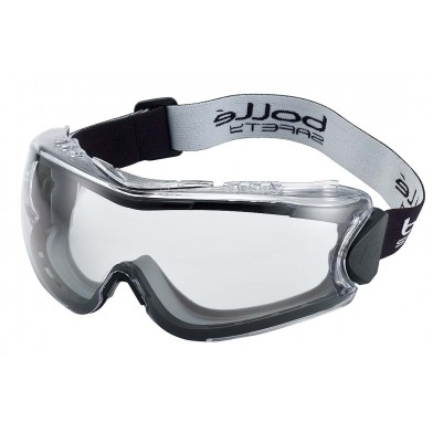 Bolle 180 Safety Goggles with Clear Lenses