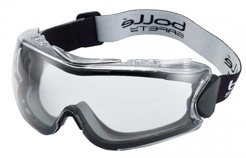 Bolle 180 Safety Goggles 180APSI (Indirect Vents Top & Bottom)
