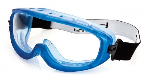 Bolle ATOM Safety Goggles 1652801 (Indirect Vents Top & Bottom) (Prescription Capable)