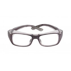 Bolle B808BL Grey (54-18) (Prescription Safety Glasses Frame & Lenses Package)
