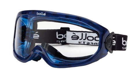 Bolle BLAST Safety Goggles 1669201 (Indirect Vents Top & Bottom) (Prescription Capable)