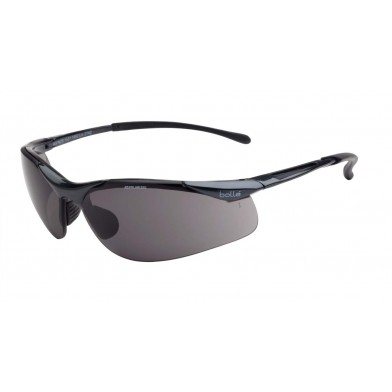 Bolle Contour Safety Glasses with Smoke Polarised Lenses