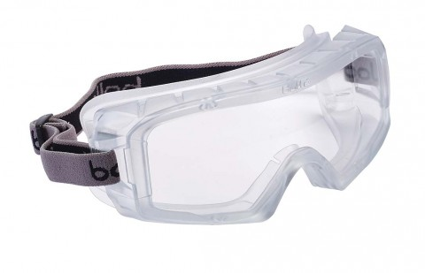 Bolle COVERALL 3 Safety Goggles 1686101 (Indirect Vents Top & Bottom)