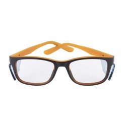 Bolle KICK Black-Orange (Prescription Safety Glasses Frame & Lenses Package)