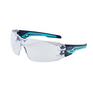 Bolle Silex Safety Glasses with Clear Lenses