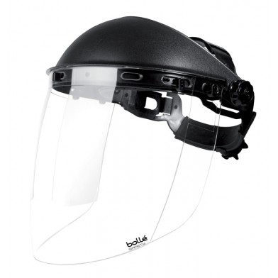 Bolle Sphere Full Face Shield with Clear Protective Visor