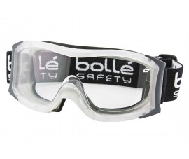 Bolle VAPOUR Safety Goggles 1650401 (Bottom Vented) (Prescription Capable)