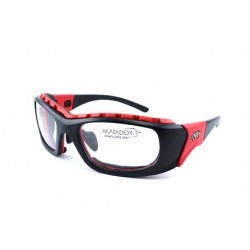 Matador MOJO Black-Red (Positive Seal) (Frame & Safety Lenses Package)