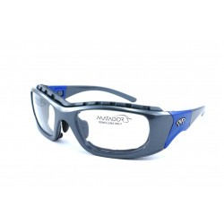 Matador MOJO Silver-Blue (Positive Seal) (Frame & Safety Lenses Package)