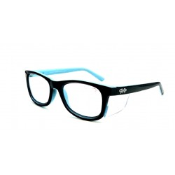 Matador HARLEY Black-Blue (Positive Seal) (Frame & Safety Lenses Package)