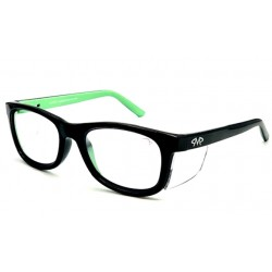 Matador HARLEY Black-Green (Positive Seal) (Frame & Safety Lenses Package)