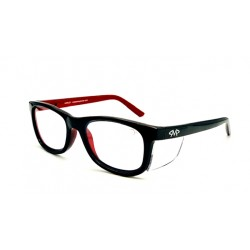Matador HARLEY Black-Red (Positive Seal) (Frame & Safety Lenses Package)