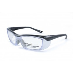 OnGuard 220 Black (55-15) (Prescription Safety Glasses Frame & Lenses Package)