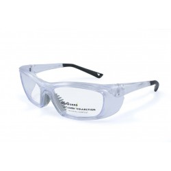 OnGuard 220 Clear (55-15) (Prescription Safety Glasses Frame & Lenses Package)