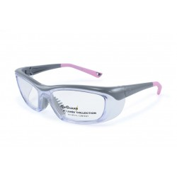OnGuard 220 Pink (55-15) (Prescription Safety Glasses Frame & Lenses Package)