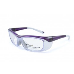 OnGuard 220 Purple (55-15) (Prescription Safety Glasses Frame & Lenses Package)