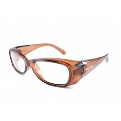 Ugly Fish FLAME Brown (Frame & Safety Lenses Package)