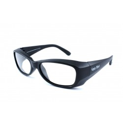 Ugly Fish FLAME Gloss Black (Frame & Safety Lenses Package)