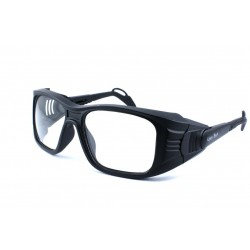 Ugly Fish ROBOT Gloss Black (Prescription Safety Glasses Frame & Lenses Package)