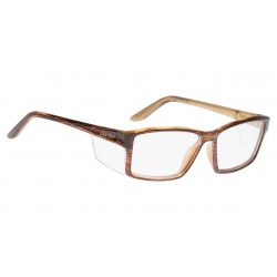 Ugly Fish TWISTER Brown Woodgrain (Frame & Safety Lenses Package)