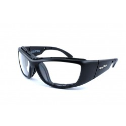 Ugly Fish WARHEAD Matt Black (Positive Seal) (Frame & Safety Lenses Package)