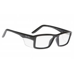 Ugly Fish WHIRLWIND Gloss Black (Prescription Safety Glasses Frame & Lenses Package)