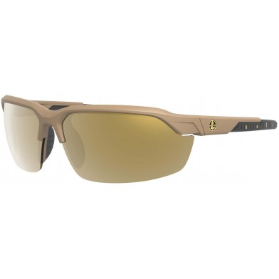 Leupold Tracer Shooting Glasses with Tan Frame and Interchangeable Lenses
