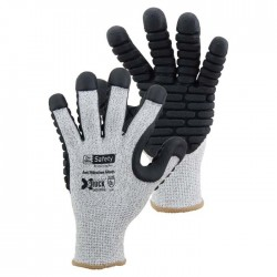 On Site Safety X-Shock Anti-vibration Safety Gloves G001AVG