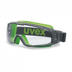 UVEX U-SONIC Safety Goggles 9308-251 (Vented) (Prescription Capable)