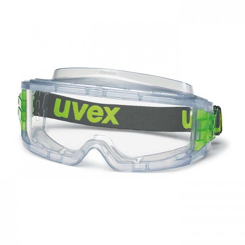 UVEX ULTRAVISION Clear Acetate Replacement Lens 9300-717F (Min Qty 10)