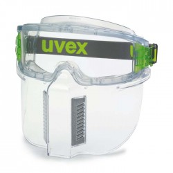 UVEX Ultrashield with Lower Face Guard 9301-381 (Top Vent Closed)
