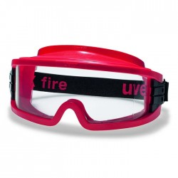UVEX Ultravision 9301-342 (Fire Goggle) (Top Vent Closed)