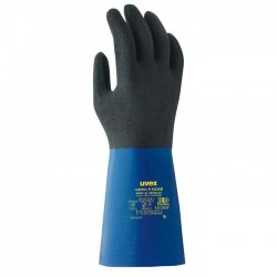uvex Rubiflex S XG35B Chemical Resistant Gloves